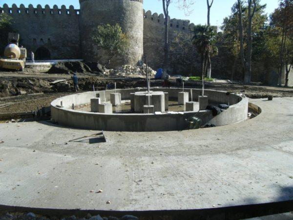 Fountain, Baku